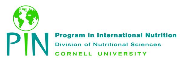 decorative text saying program in international nutrition
