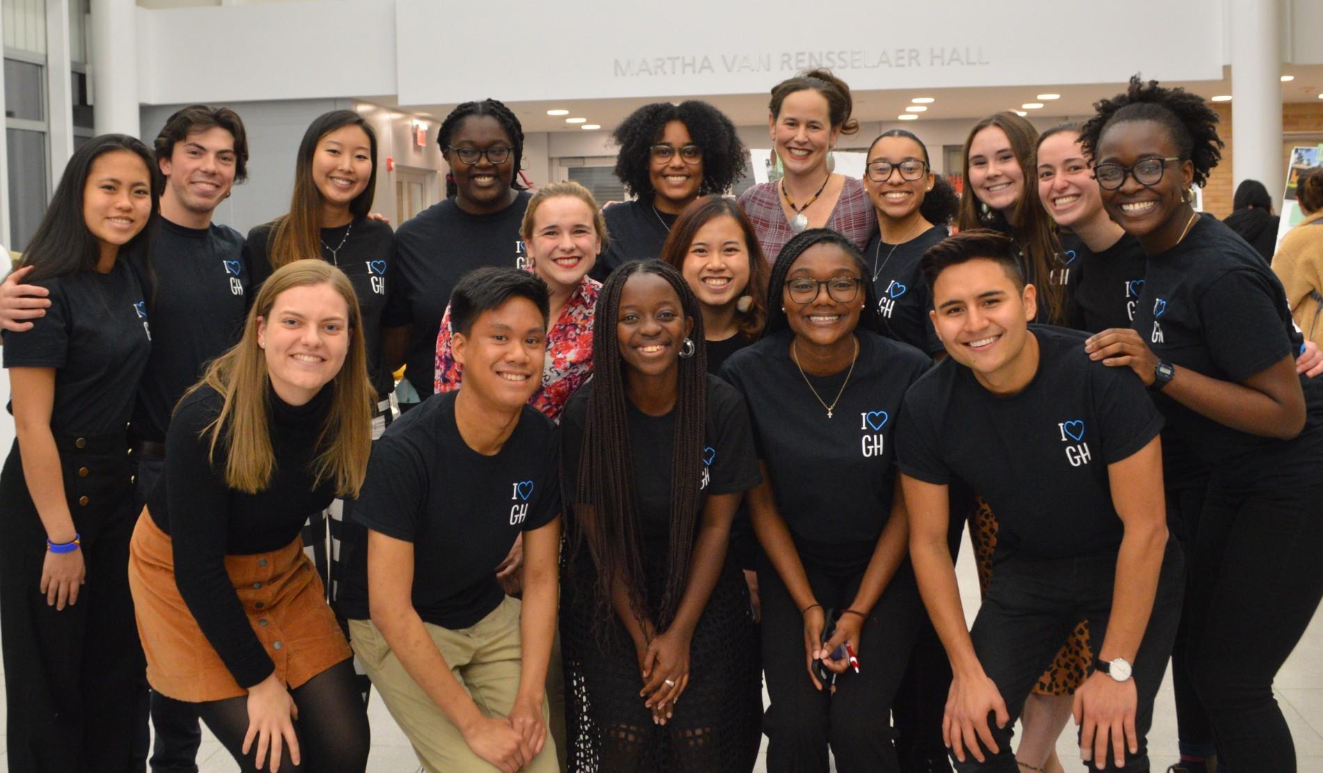 global health student advisory board members group photo
