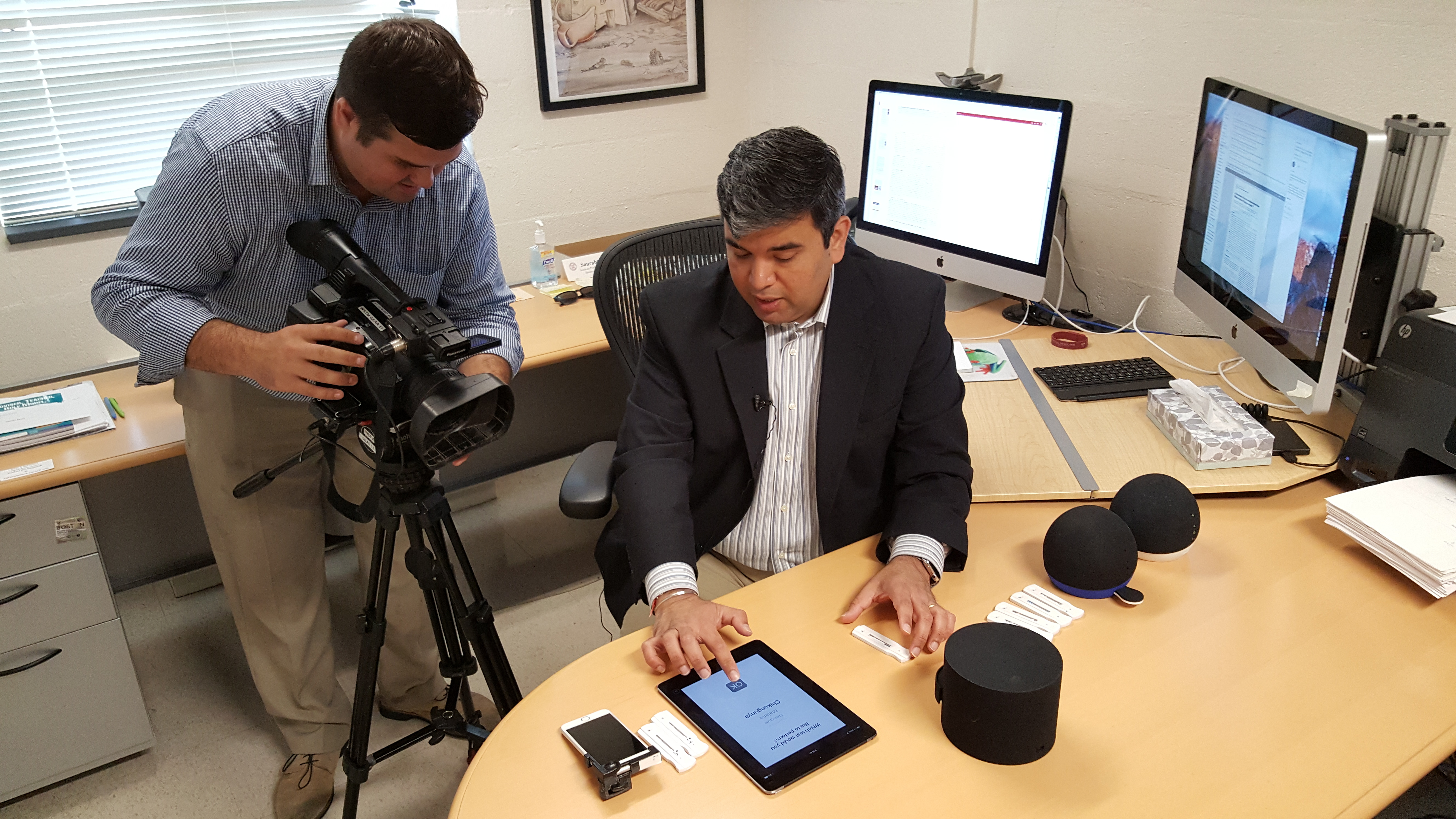 Dr. Mehta in an interview