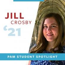Jill Crosby outside