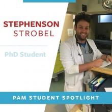 Stephenson Strobel working in hospital