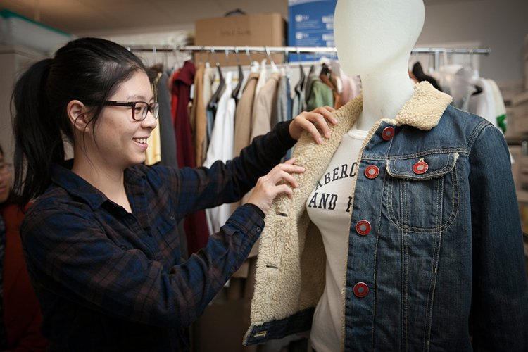 fitting a jean jacket