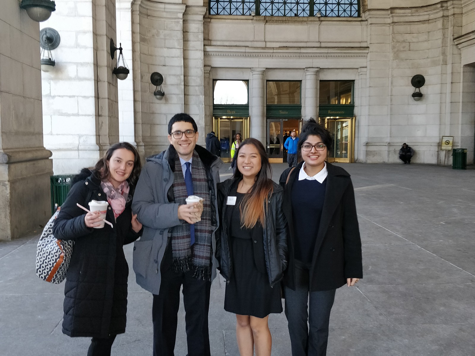 Sloan Students on trip 2018 union trip