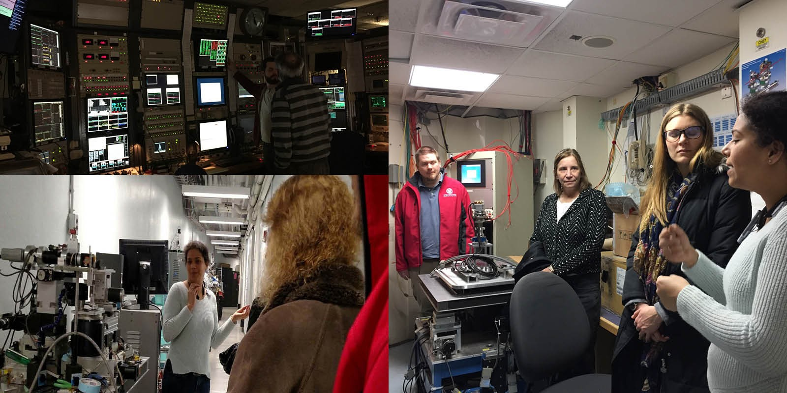 Staff at Wilson Synchrotron Laboratory photo collage