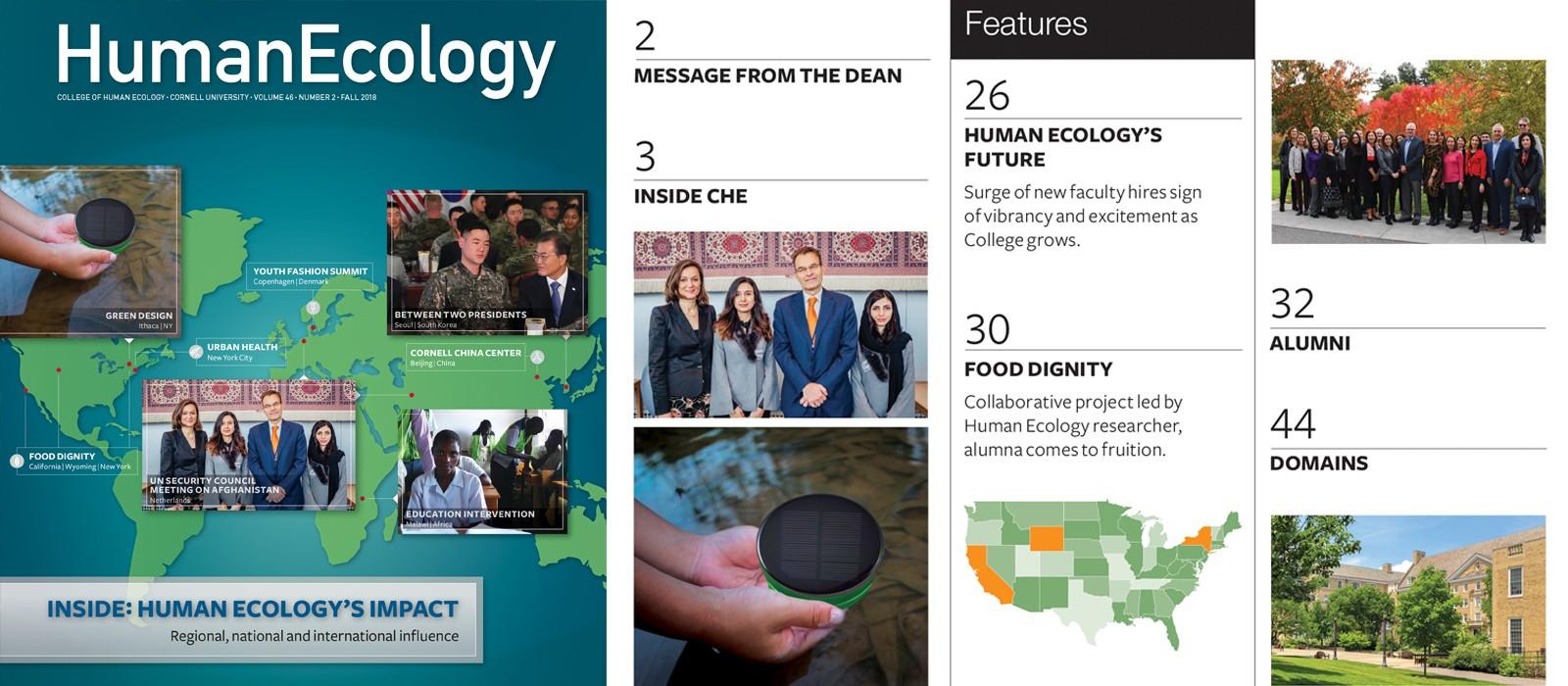 Cornell school of human ecology majors