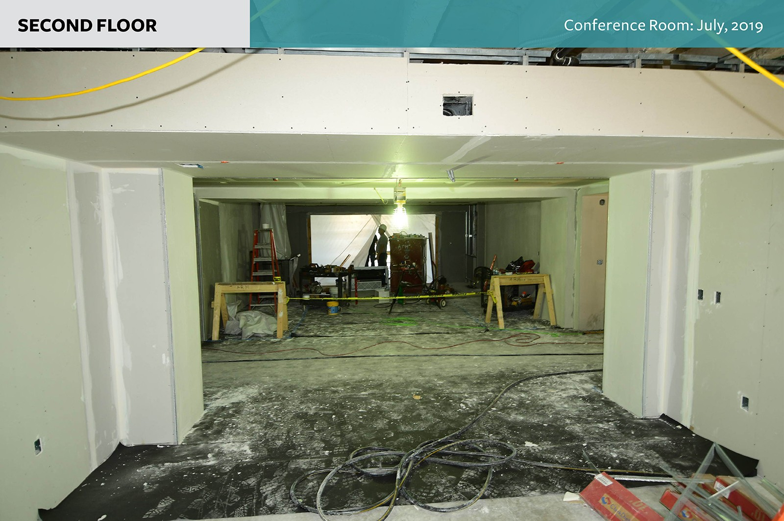 Second floor: Conference Room as of July, 2019