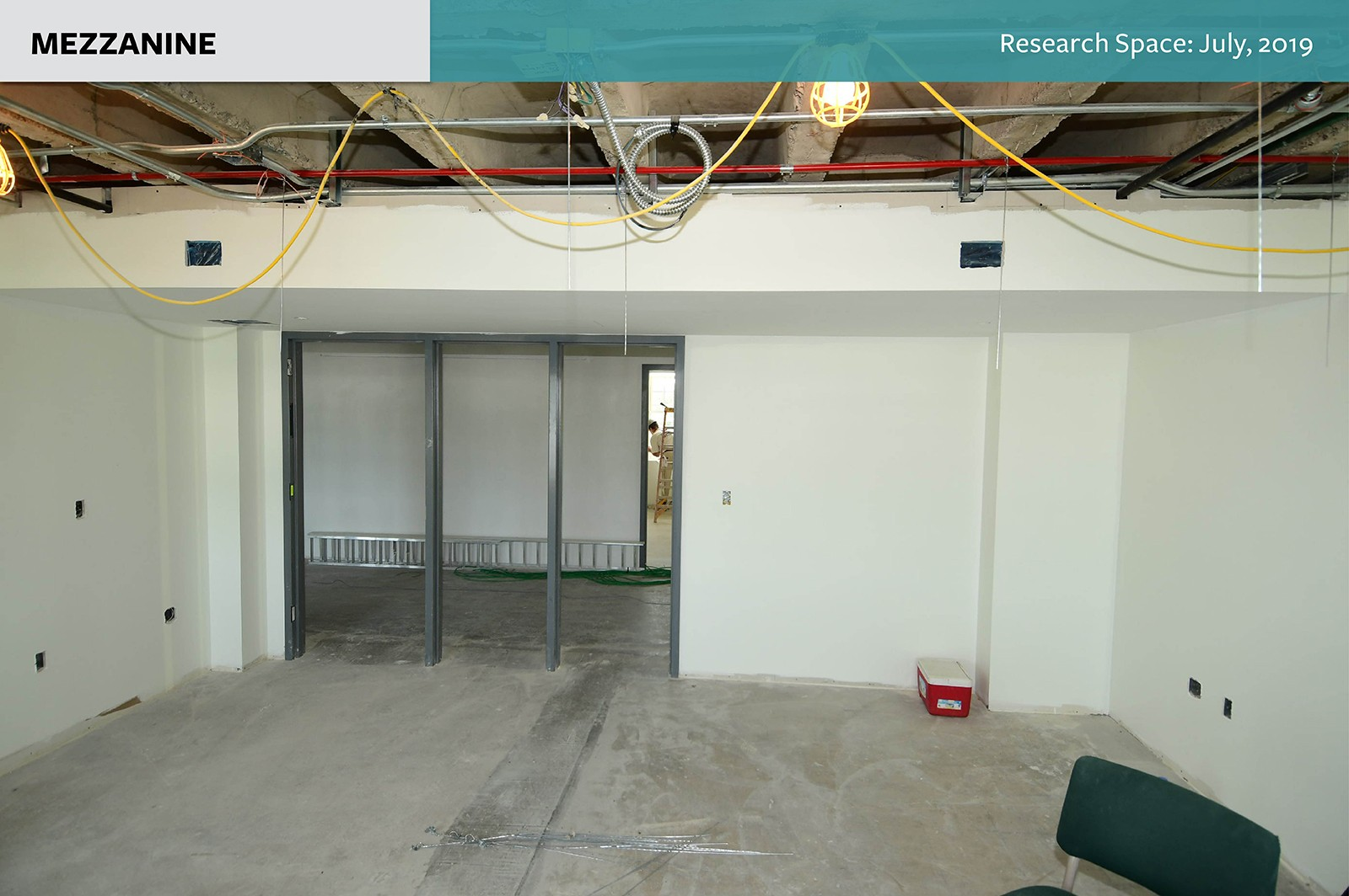 Mezzanine: Research Space as of July, 2019