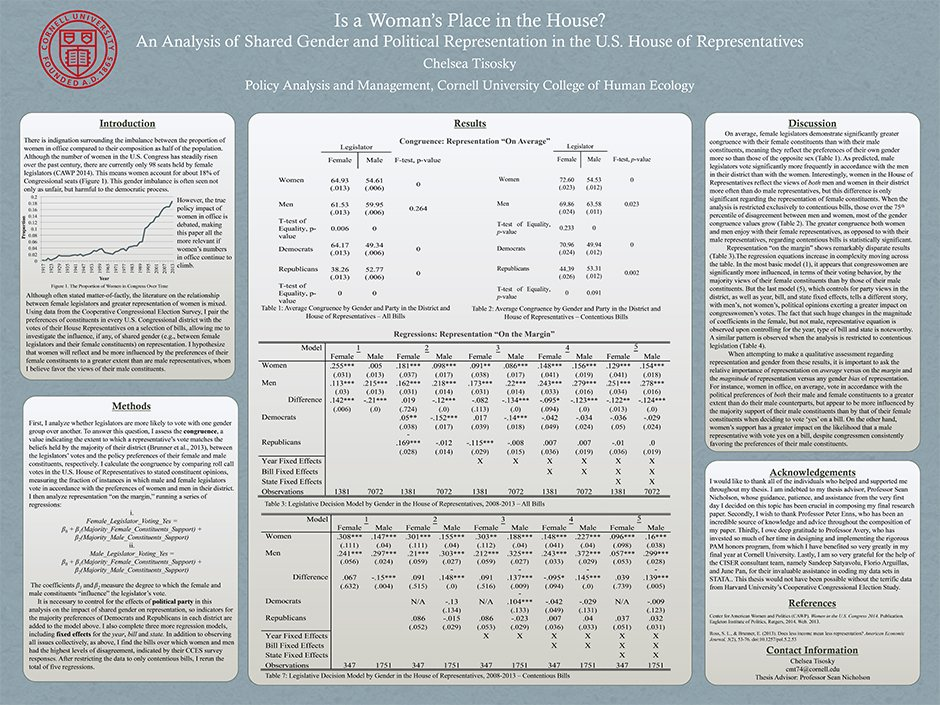 PAM honors poster