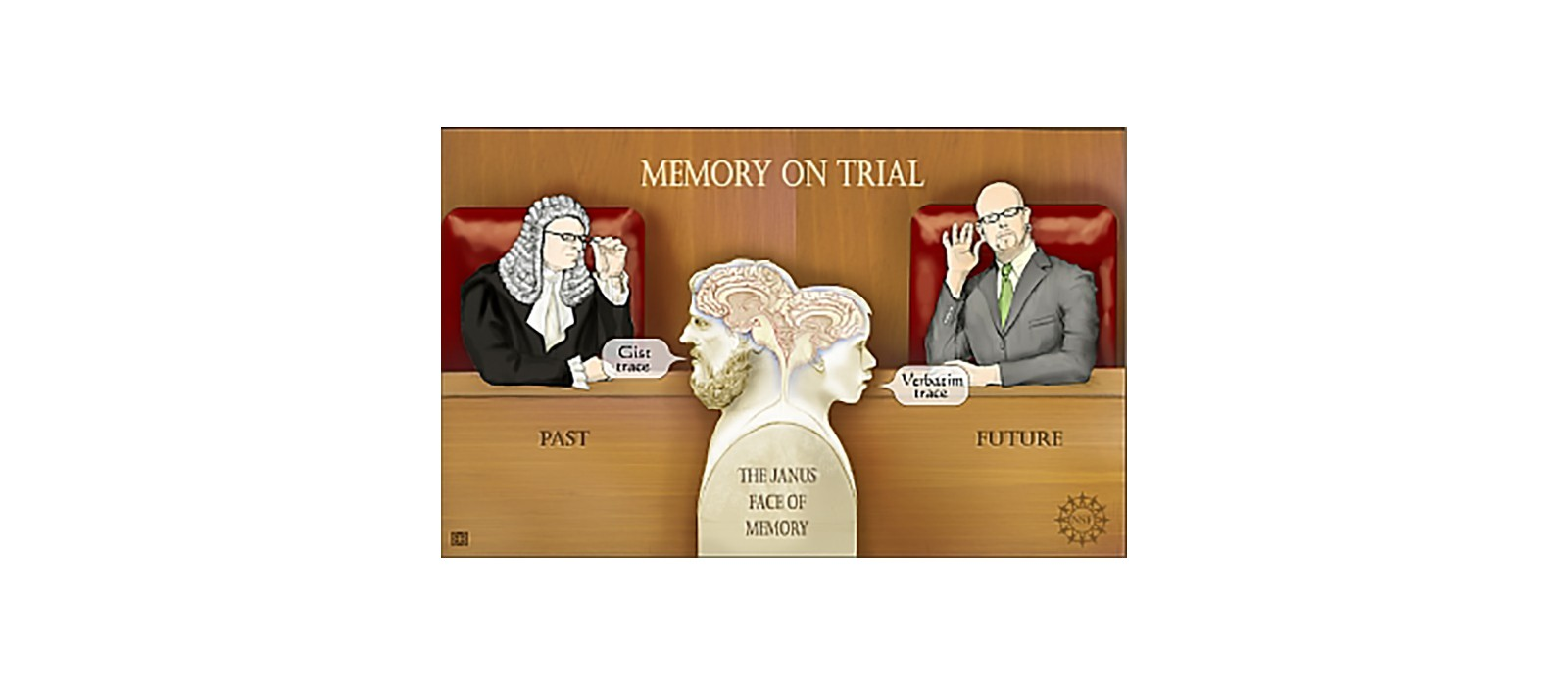 Memory on trial in the courtroom