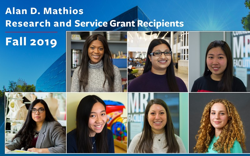Mathios Grant Award recipients