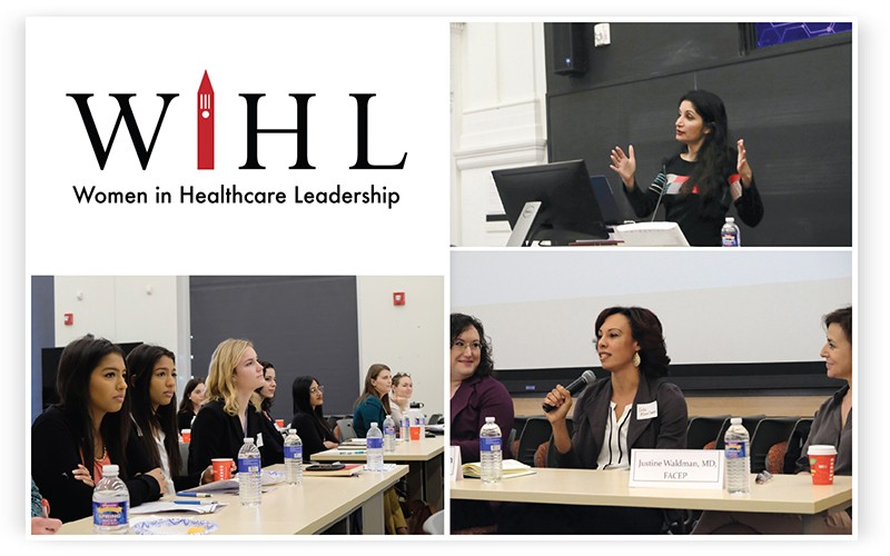 Women in Health Care collage from the event