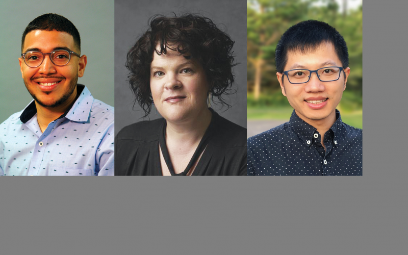 New faculty: Figueroa, Loebach and Zhong