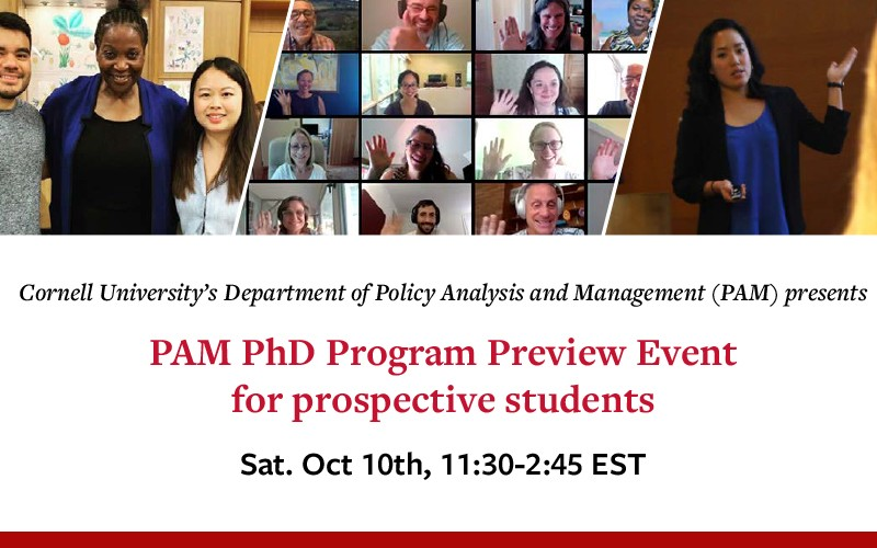PAM PhD Preview event