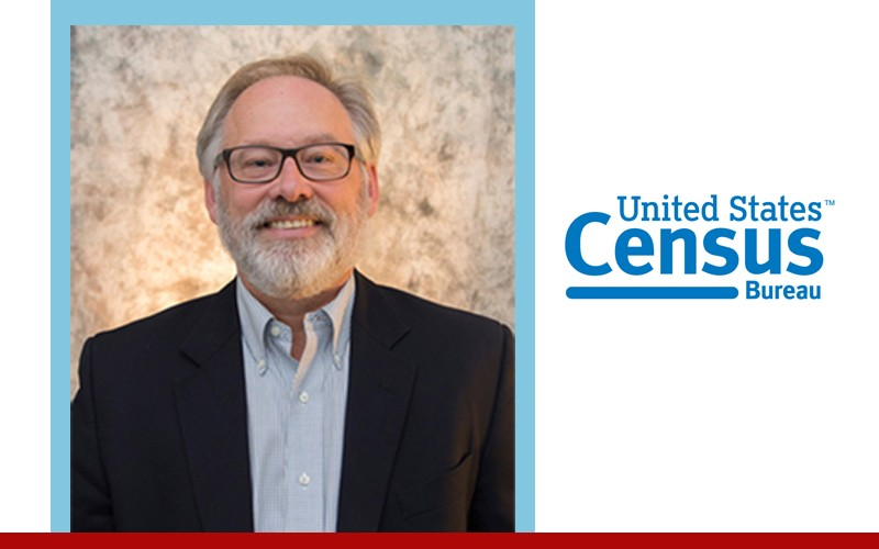 Dan Lichter next to Census logo