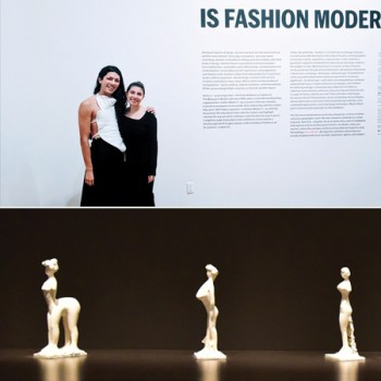 Wen and Zwanziger at the MOMA opening. Image of Tolula.