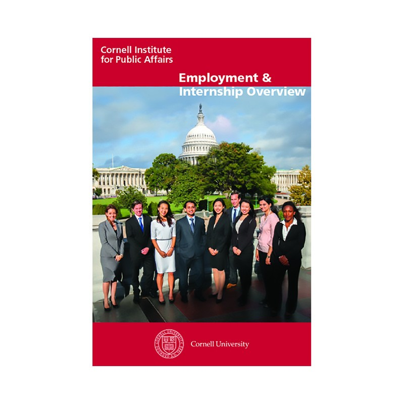 employment brochure cover