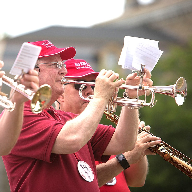 Big Red Band player