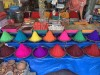 colorful dried goods at india market